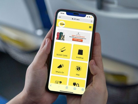 Scoot Launches New Inflight Portal In Preparation For New Normal