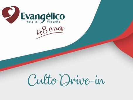 Culto Drive-in - Hospital Evangélico