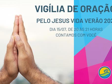Vigília de Oração pelo JVV 2021