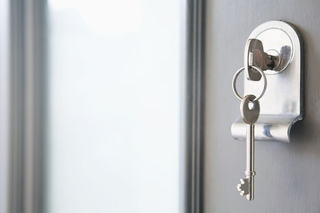 Schlüssel im Schloss