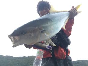 五島列島(中通島 若松島) 9月24日、25日、26日 ルアーフィッシング釣行記事 ヒラマサ ショアキャスティング