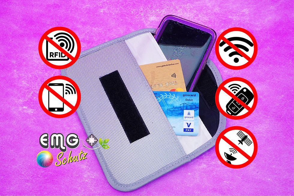EMF-Handyschutztasche