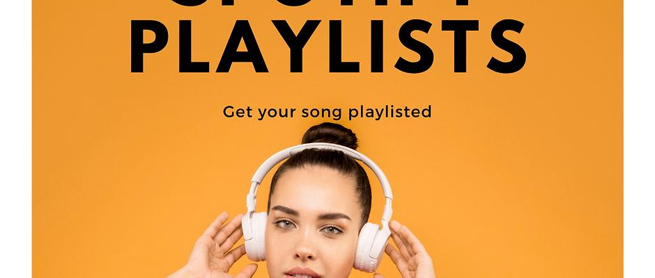 Spotify Playlisting