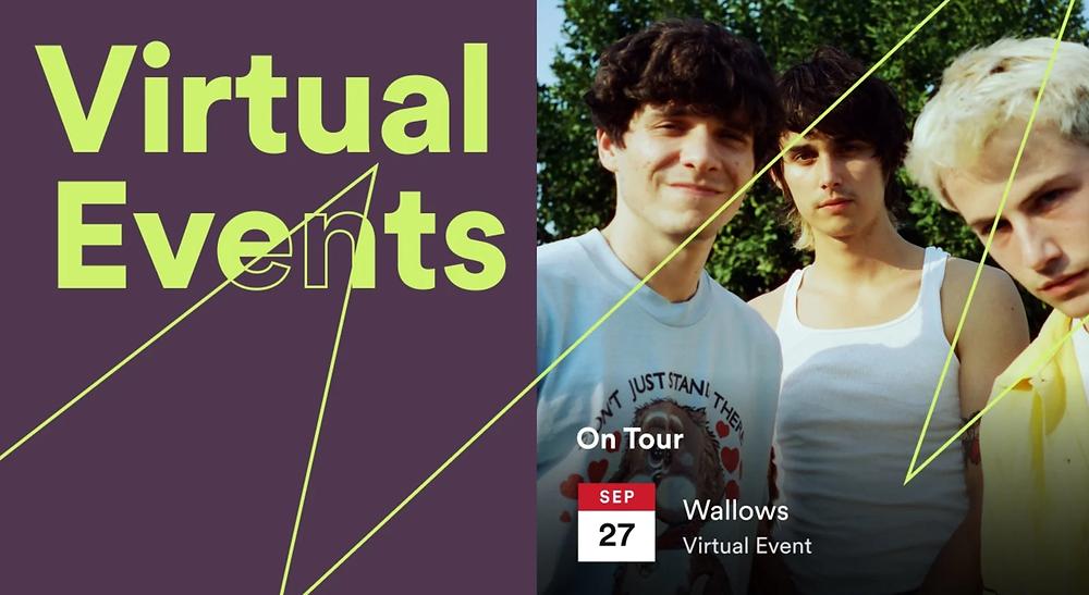 Spotify Virtual Events