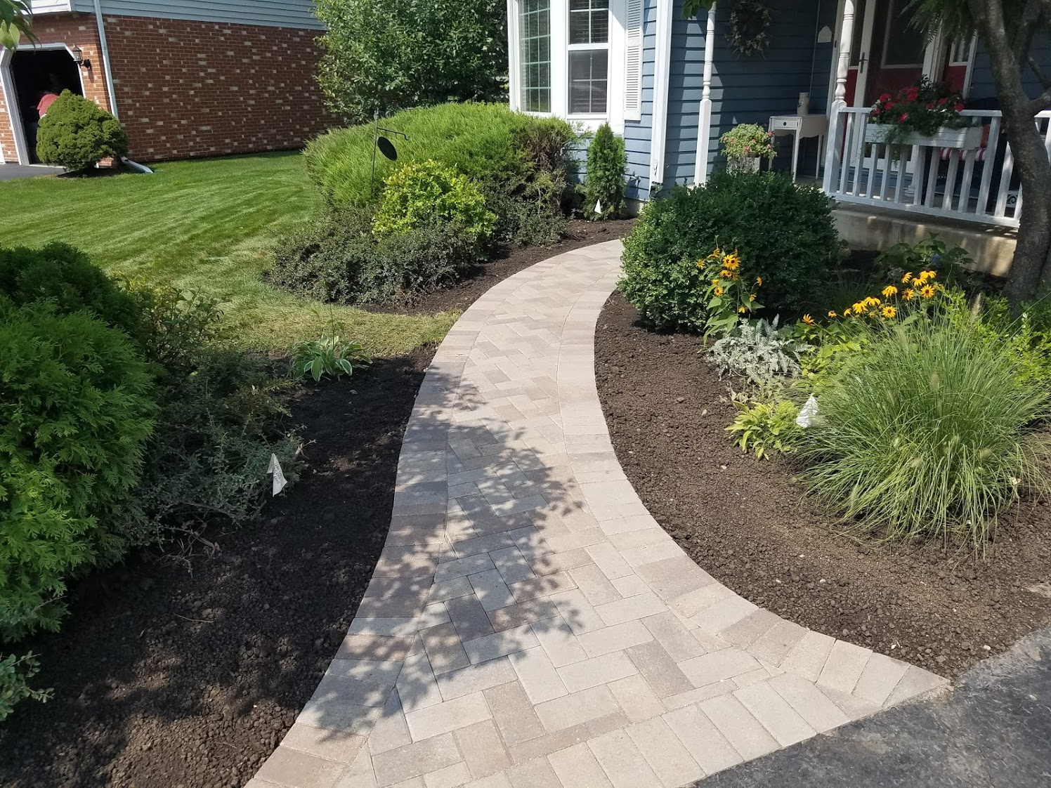 Front Paver Walk