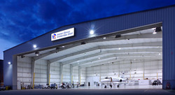 Air Plane Hanger R-16 In Ceiling Stopped Condensation Problem