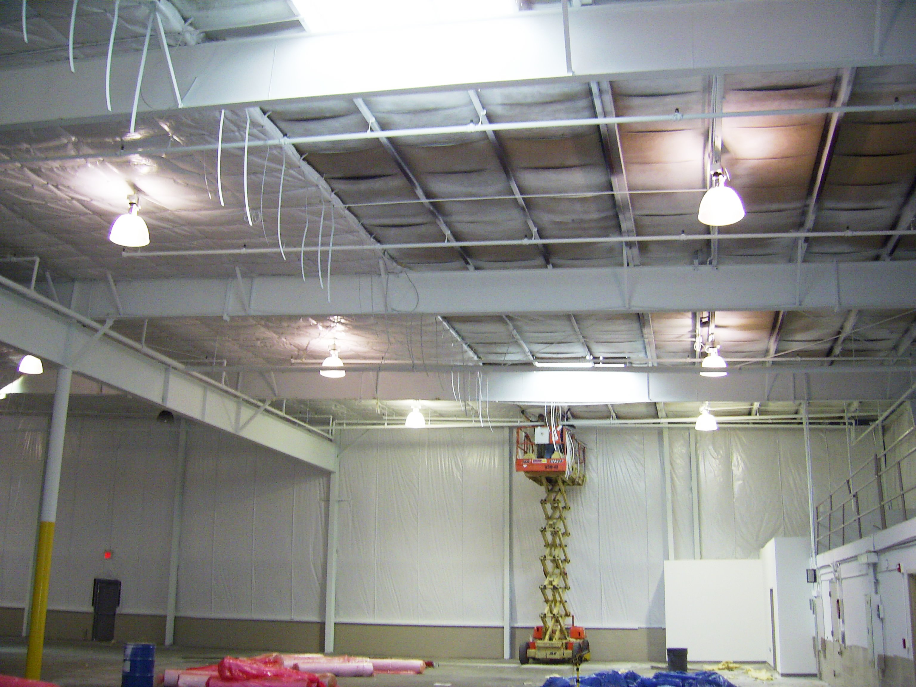 First Industrial 120,000 sq.ft R-16 Strap Insulation System and R-16 Blanket Wall Insulation System