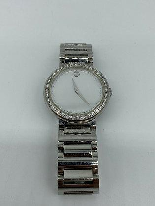 Womens Movado Concerto Diamond Bezel Watch #192