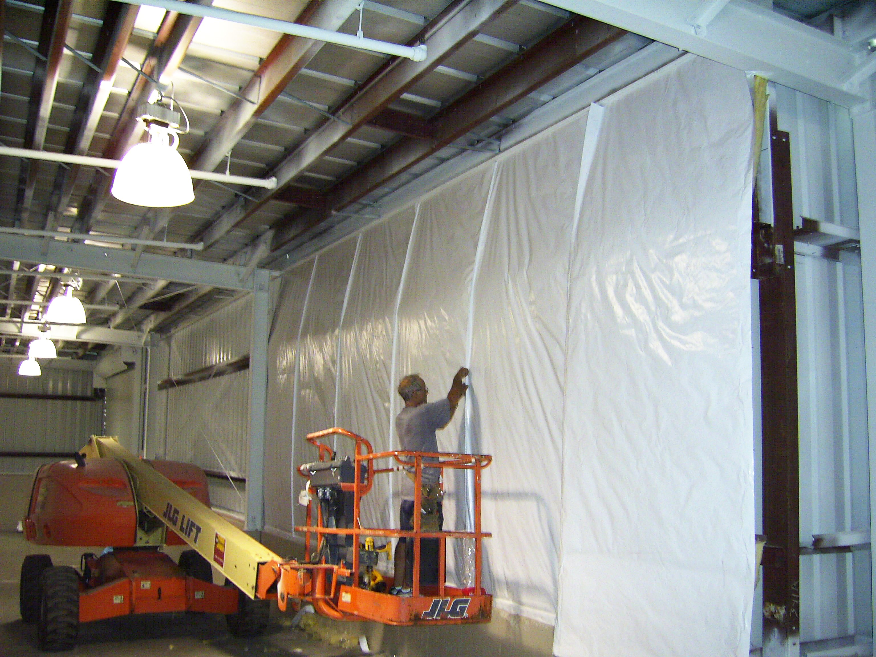 Blanket Wall Insulation System