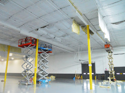 100,000 sq.ft. R&D Facility R-19 ROD Suspension Saved 50 Tons of Air Conditioning Equipment