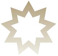 Bahai nine pointed star