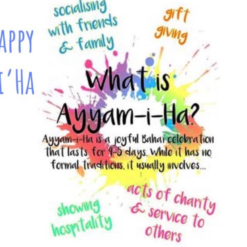 Ayyam'i'Ha celebration Potluck