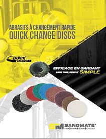 Sandmate quick change disc catalogue