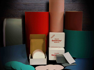 CLOTH AND PAPER ABRASIVE DISCS OFFER A VARIETY OF APPLICATIONS