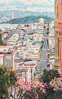From the Top of Lombard Street by Brenda Hofbauer