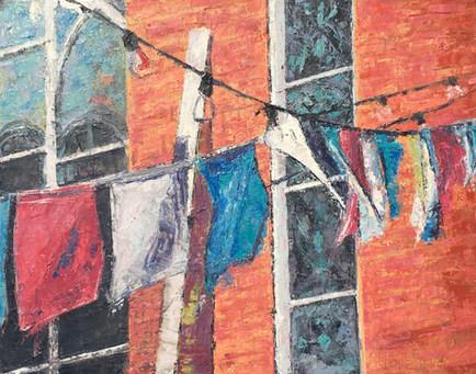 Prayer Flags by Brenda Hofbauer