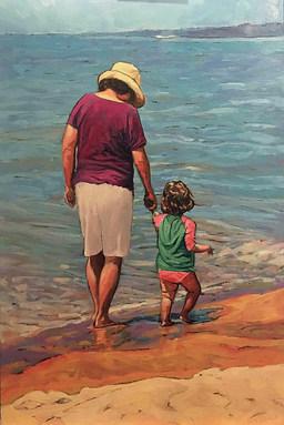 Take My Hand by Brenda Hofbauer
