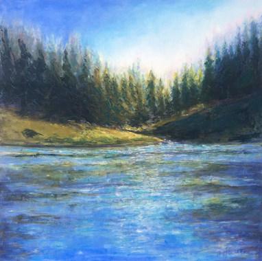 Yellowstone River by Brenda Hofbauer