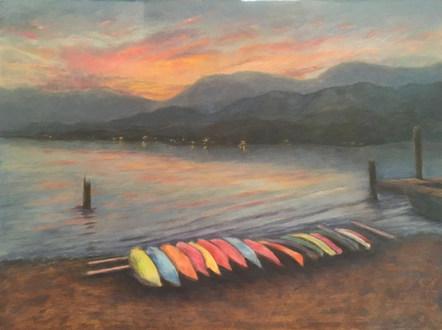 Canoes by Brenda Hofbauer