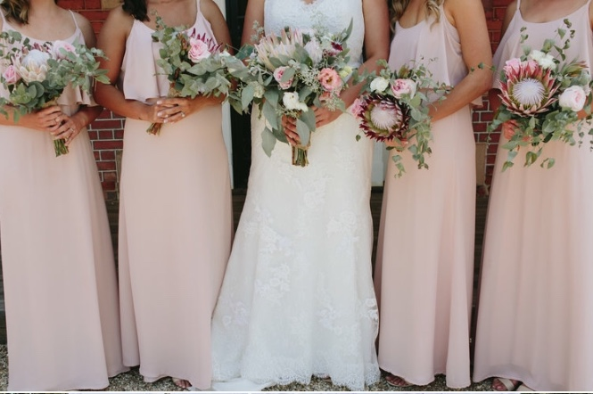 Keirra Bridal party