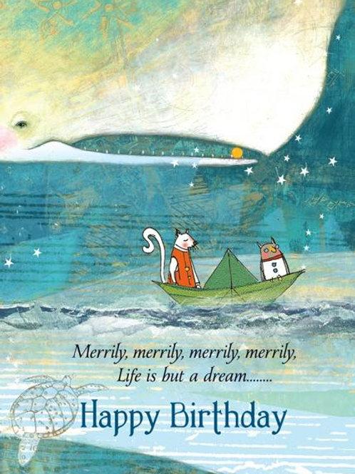 The Wonder 'Bee'-Card-Merrily