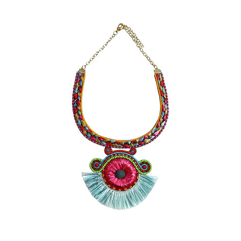 tacy necklace - pink
