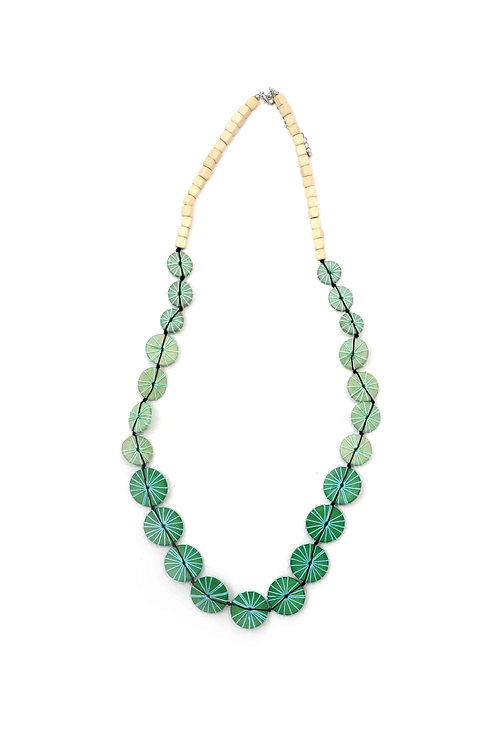 n62452-g-dolores necklace- green
