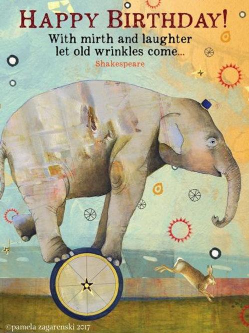 The Wonder 'Bee'-Card-Wrinkles