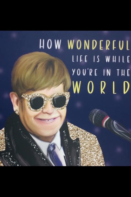 The Wonder Bee - Card - Wonderful World
