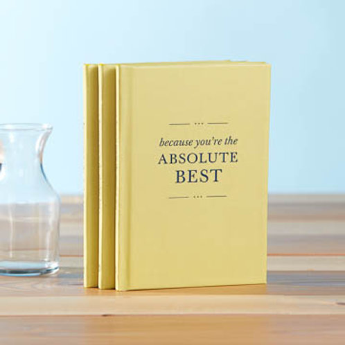 Book - Because You're The Absolute Best