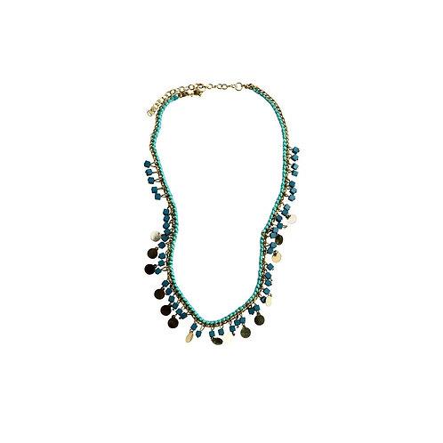 pazi necklace - turquoise