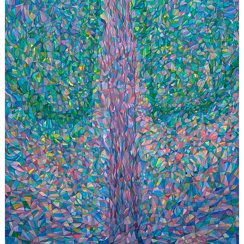 Heather Williams Print: Tree painted to Music