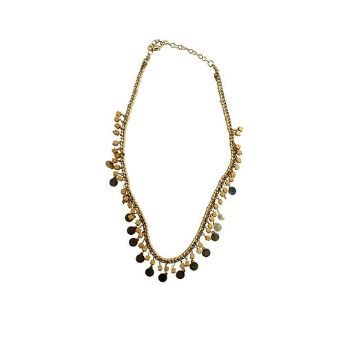 pazi necklace - nude