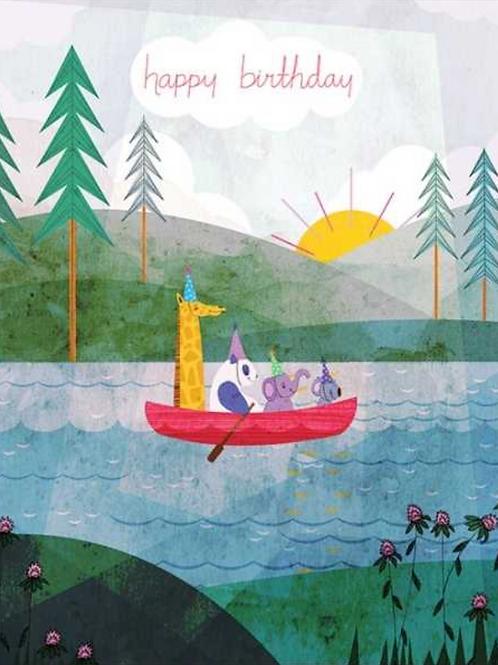 4 in a Canoe