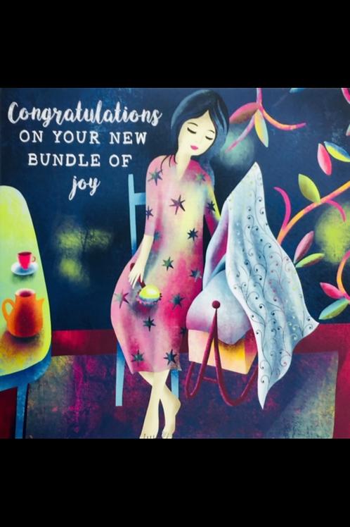 The Wonder Bee - Card - Congratulations