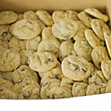 A box of small cookies