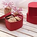 Valentine's Heart Cookie Box