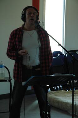 Chris enregistre