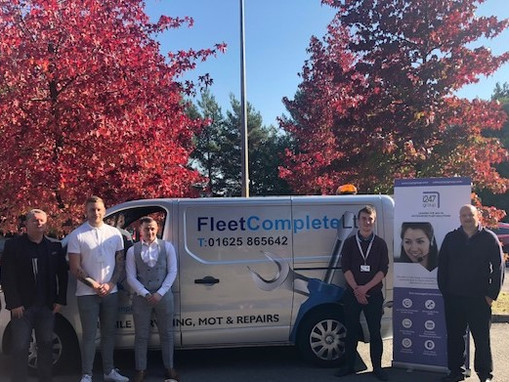Fleet Complete educate i247 Group on services they offer and the benefits of drivers using their ser