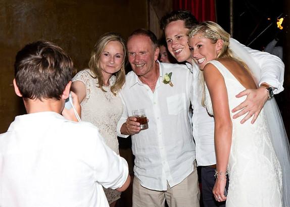 Ellie, John, Sam and Kate