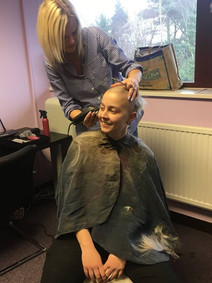 Brave the shave for charity