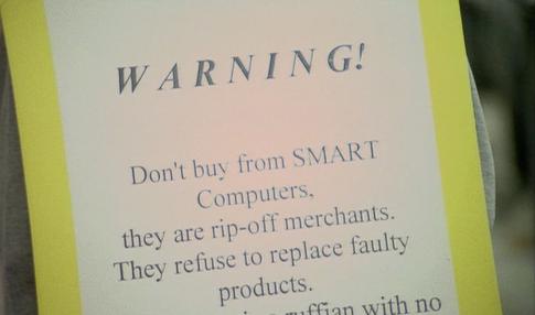 You've been warned