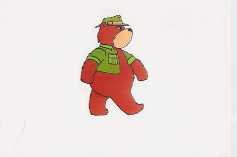 Bradbury Bear by Oscar Wright