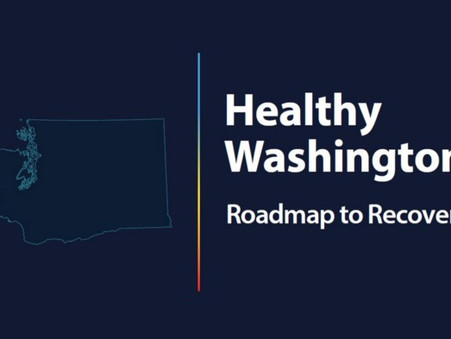 "Inslee announces ""Healthy Washington–Roadmap to Recovery"""
