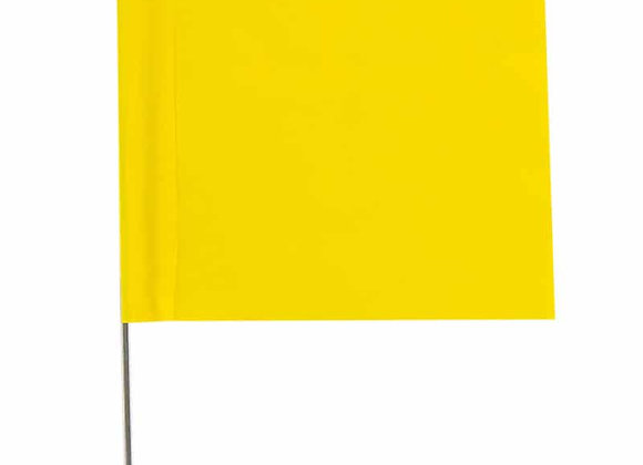 Survey Flags - Yellow
