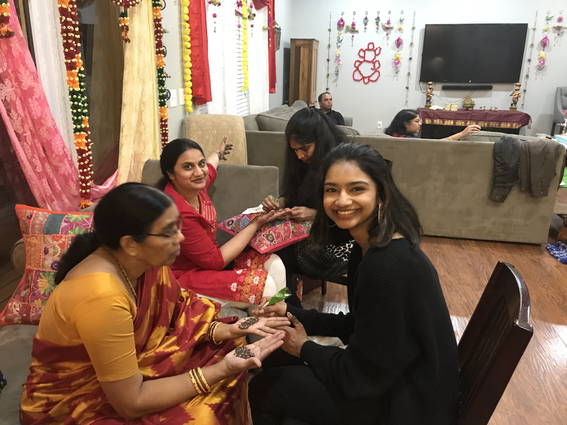 Bridal Henna Party