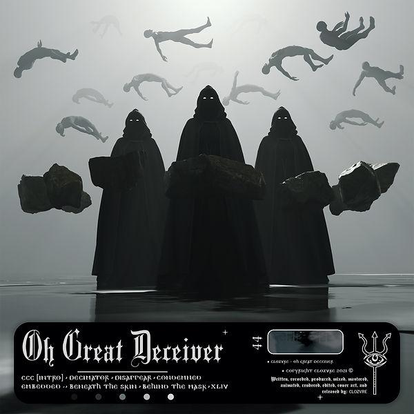 Oh Great Deceiver [Album Cover Art]