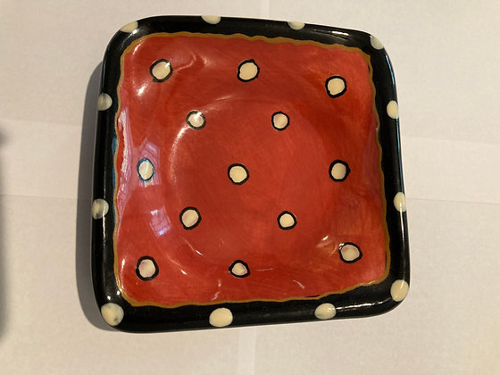 Dipping Dish Red