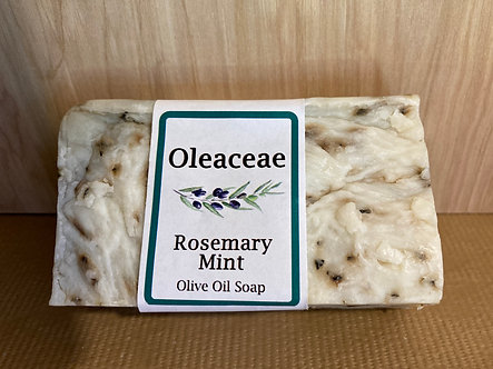 Rosemary Mint Olive Oil Soap