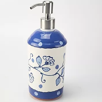 Pottery Lotion bottle New Delft